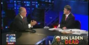 Rudy Giuliani And Sean Hannity Agree: Torture Worked, And Candidate Obama Wouldn't Have Killed Bin Laden