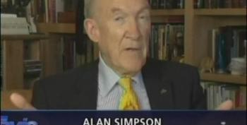Tavis Smiley Lets Alan Simpson Fearmonger On Social Security And Pretends He Doesn't Know How To Check His Numbers