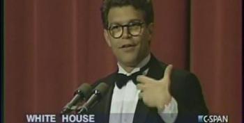 Al Franken At The White House Correspondents Dinner 1996