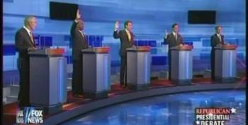 First Republican Presidential Debate: Raise Your Hand If You Support Torture
