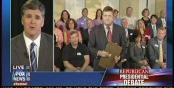 Hannity Makes Excuses To Frank Luntz's Focus Group For Absent GOP Candidates