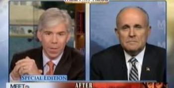 Giuliani Considering 2012 Run For President