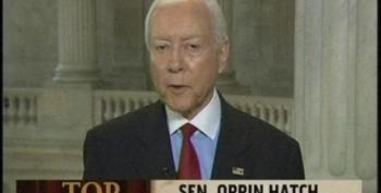 Orrin Hatch Stands Up For Those Poor Picked On Oil Company Executives