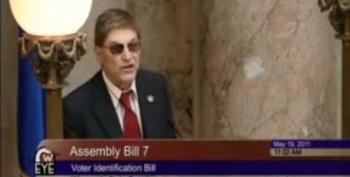Wisconsin Senate Republicans Ram Through Voter ID Bill