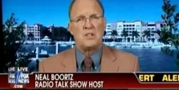 Fox Guest Neal Boortz: Re-electing Obama Like Strapping On A 'Suicide Vest'