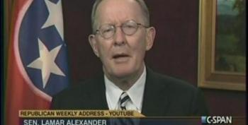 Lamar Alexander Touts Foreign Investors As Solution For Job Creation In The U.S. And Bashes Unions During GOP Weekly Address