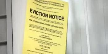 Americans For Prosperity Posts Fake Eviction Notices