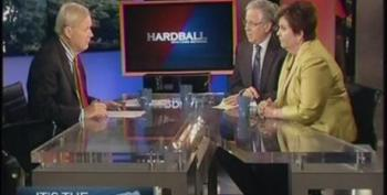 Chris Matthews Allows His Guests To Pretend Romney Should Be Taken Seriously As Someone Who Can Run On Our Bad Economy