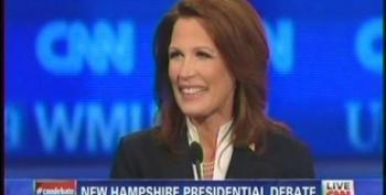 Michele Bachmann Announces Her Presidential Campaign During CNN Debate