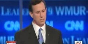 Santorum Says He's 'Taken The Bullets' In The Abortion Debate