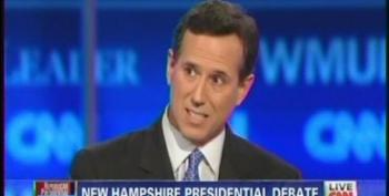 Rick Santorum Falsely Claims The Obama Administration Has Put A Stop Sign On Oil Drilling