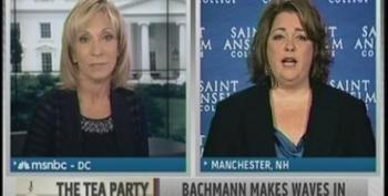 Andrea Mitchell Again Paints Tea Party Express' Amy Kremer As Independent From The GOP