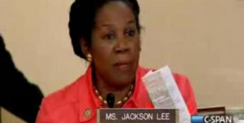 Sheila Jackson Lee Asks About 'Christian Militants' During Anti-Muslim Hearing