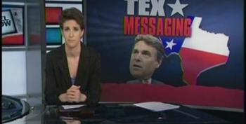 Rachel Maddow Debunks Praise For Rick Perry's 'Texas Miracle'