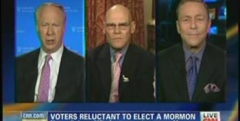 David Gergen Conflates Mitt Romney's Record On Job Creation With His Father's