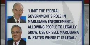Barney Frank And Ron Paul Introduce Legislation To End Federal Ban On Marijuana