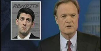 Lawrence O'Donnell Rewrites The Praise For A Paul Ryan 2012 Presidential Election Bid