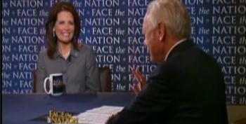 CBS' Bob Schieffer Calls Out Bachmann For Her Lies On 'Face The Nation'. She Responds By Prevaricating.