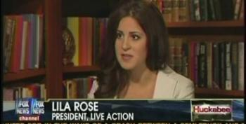 Huckabee Promotes Anti-Abortion Propagandist Lila Rose And Her Next Ambush Video