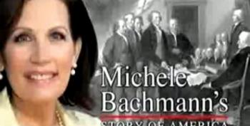 Jimmy Kimmel Reveals 'Michele Bachmann's Story Of America'