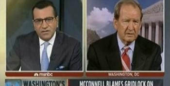 Pat Buchanan Defends Tax Cuts For Private Jets And Pretends Poor People Don't Pay Any Taxes