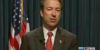 Rand Paul Promises To Filibuster Over Debt Ceiling