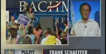 Frank Schaeffer: Bachmann's Christianity Radical Even For Evangelicals