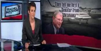 Inhofe Insists He's The Victim After Nearly Killing Airport Workers