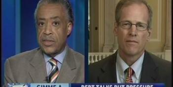 Rev. Al Sharpton Hits Jack Kingston For Defending Trickle Down Economics