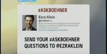 Turnaround Is Fair Play - Ezra Klein Creates New Twitter Hashtag To Ask Questions Of John Boehner