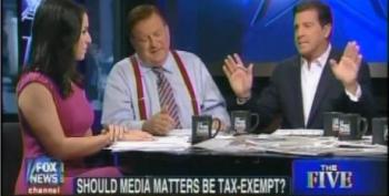 """The Five"" Discuss Whether Or Not Media Matters Should Get Its Tax Exemption"