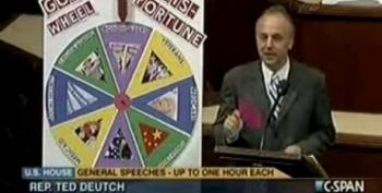 Rep. Ted Deutch Spins 'GOP Wheel Of Misfortune' On House Floor