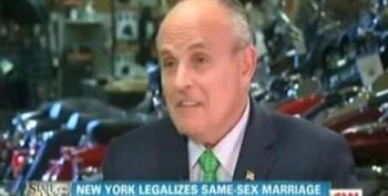 Giuliani To GOP: 'Get The Heck Out Of People's Bedrooms'