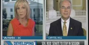Andrea Mitchell Gives Tom Price A Pass On Republicans Handcuffing The SEC