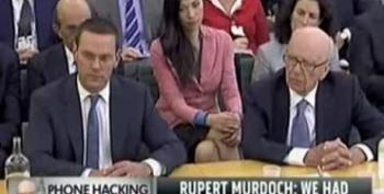 Murdoch Attacked With Pie At Hearing