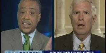 Al Sharpton Takes On Another 'Tea Party' Wingnut, Mo Brooks On Tax Cuts And Raising The Debt Limit