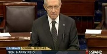 Reid Slams House Republicans For 'Taking The Weekend Off'