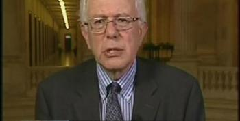 Bernie Sanders Expresses Dismay Over Debt Ceiling Negotiations And The Lack Of Shared Sacrifice Being Debated