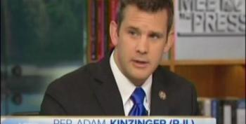 David Gregory Allows Rep. Kinzinger To Spout Gibberish  On Stimulus Spending Numbers