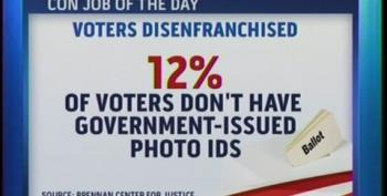 More Voter Disenfranchisement In WI -- Walker Closing 10 DMV Offices