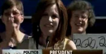 Bachmann Almost Calls Herself 'President O'Bachmann'