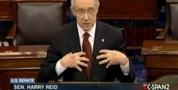 Reid On Debt Deal: Congress Worked, No One Was Caned