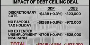Rachel Maddow: Markets Tank Even After Debt Ceiling Deal Reached