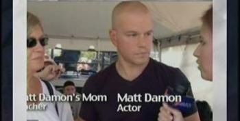 Matt Damon Defends Teachers At Save Our Schools March
