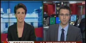 Ezra Klein On S&P's Decision To Lower The United States Credit Rating