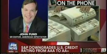 John Fund Pushes For More Austerity Measures On News Of S And P Downgrade