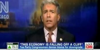 Rep. Joe Walsh: U.S. 'Would Have Been Downgraded Months Ago' Without The Tea Party