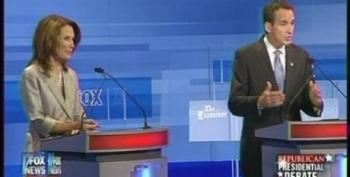 Bachmann And Pawlenty Tear Into Each Others Records During Iowa Debate
