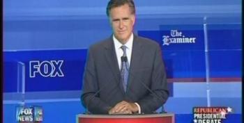 Mitt Romney Defends Record At Bain Capital During Republican Debate