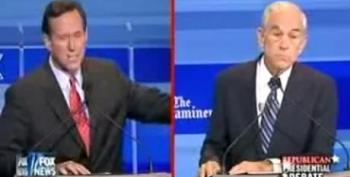 Ron Paul Schools Santorum On Iran Diplomacy